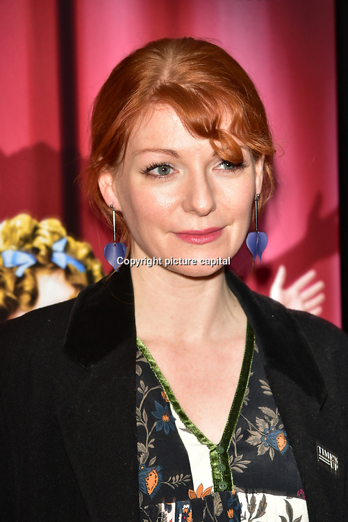 Kaisa Hammarlund arrives at Ruthless! The Musical - Arts Theatre opening night on 27 March 2018  at Arts Theatre, London, UK.