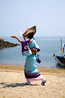 Sensuijima Sea Breem Festival Dance - The way in which Japanese dance is performed depends on each region, though the typical public dance involves dancing in a circle.  The dance of a region can illuminate the area's history and specialization.