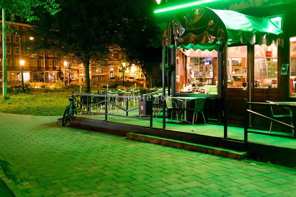 night by the Weteringschans Amsterdam Netherlands