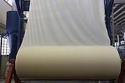 Montes Claros_MG, Brasil.<br /> <br /> Rolo de tecido cru sendo alvejado na unidade Cebratex da fabrica de Tecidos em Montes Claros, Minas Gerais.<br /> <br /> Greige roll in Cebratex unit in the textile factory in Montes Claros, Minas Gerais.<br /> <br /> Foto: LEO DRUMOND / NITRO