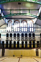NEARLY £1 MILLION ROOF REPAIRS COMPLETE AT GALA POOL OF ICONIC GRADE II* MOSELEY ROAD BATHS, BIRMINGHAM Photo by Mark Anton Smith