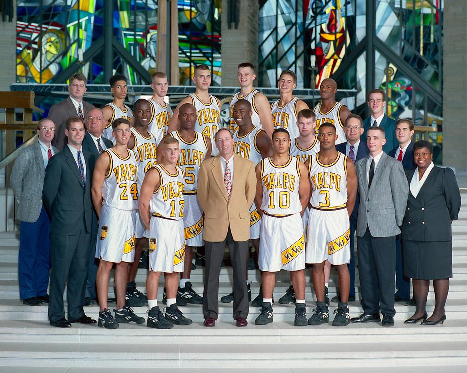 1995-96 Men's Basketball<br /> Mid-Continent Conference<br /> Regular Season & Tournament Champion