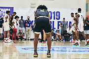 NORTH AUGUSTA, SC. July 10, 2019. Sharife Cooper 2020 #2 of A.O.T. 17U at Nike Peach Jam in North Augusta, SC. <br /> NOTE TO USER: Mandatory Copyright Notice: Photo by Jon Lopez / Nike