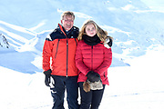 Fotosessie met de koninklijke familie in Lech /// Photoshoot with the Dutch royal family in Lech .<br /> <br /> Op de foto/ On the photo:  Koning Willem Alexander, Prinses Amalia ///// King Willem Alexander, Princess Amalia