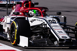 February 26, 2019 - Barcelona, Barcelona, Spain - Antonio Giovinazzi from Italy with 99 Alfa Romeo Racing in action during the Formula 1 2019 Pre-Season Tests at Circuit de Barcelona - Catalunya in Montmelo, Spain on February 26. (Credit Image: © AFP7 via ZUMA Wire)