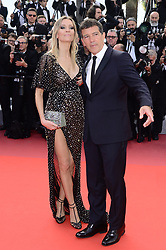 May 26, 2019 - WORLD RIGHTS.Cannes, France, 25.05.2019, 72th Cannes Film Festival in Cannes. The 72th edition of the film festival will run from May 14 to May 25. .Closing Ceremony Red Carpet .NZ. Antonio Banderas, Nicole Kimpel.Fot. Radoslaw Nawrocki/FORUM (FRANCE - Tags: ENTERTAINMENT; RED CARPET) (Credit Image: © FORUM via ZUMA Press)