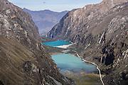 Llanganuco Valley and Lakes, Cordillera Blanca, Andes Mountains, Peru, South America