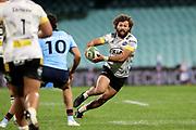 Orbyn Leger. Waratahs v Hurricanes. 2021 Super Rugby Trans Tasman Round 1 Match. Played at Sydney Cricket Ground on Friday 14 May 2021. Photo Clay Cross / photosport.nz