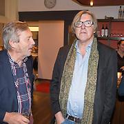 """NLD/Bloemendaal/20151124 - Boekpresentatie """"Buch"""" over het leven van Menno Buch, Mr. Cees Korvinus en Bert van der Veer"""