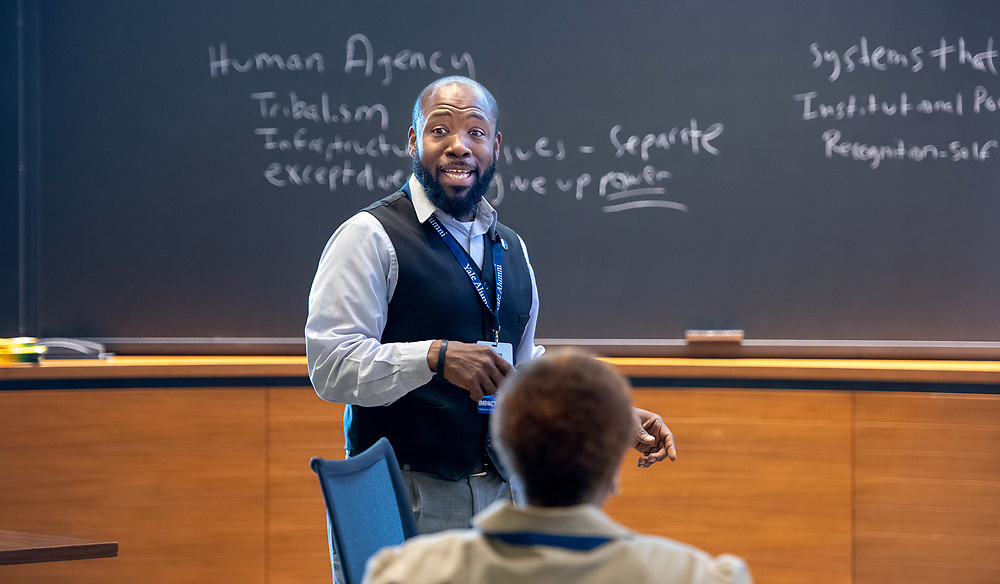 Photo by Mara Lavitt<br /> March 30, 2019<br /> Yale School of Management<br /> <br /> Impact Conference, Yale Alumni Assoc.
