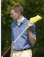 ARNHEM - Alister Monroe.      Voorjaarswedstrijden Golf heren op de Rosendaelsche Golfclub COPYRIGHT KOEN SUYK