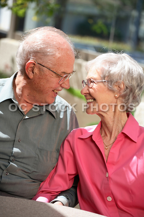 Happily Married Senior Couple