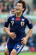 Shinji Okazaki (Japan), May 30, 2010 - Football : World Cup South Africa 2010 test match ,  match between Japan 1-2 England  at Libenau stadium, Graz, Austria, (Photo by Enrico Calderoni/AFLO SPORT) [0391]