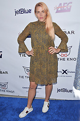 Busy Philipps arrives at Jessie Tyler Ferguson's 'Tie The Knot' 5 Year Anniversary celebration held at NeueHouse Hollywood in Los Angeles, CA on Thursday, October 12, 2017. (Photo By Sthanlee B. Mirador/Sipa USA)