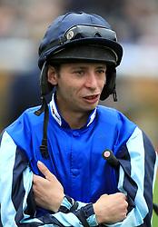 Jockey Philip Prince during the racinguk.com/British Stallion Studs EBF Novice Stakes