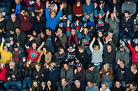 KELOWNA, BC - JANUARY 24: Fans get ready for overtime at the Kelowna Rockets against the Seattle Thunderbirds at Prospera Place on January 24, 2020 in Kelowna, Canada. (Photo by Marissa Baecker/Shoot the Breeze)