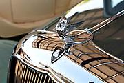 Chrysler Plymouth hood ornament.