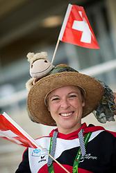 Mirjam Meyer, SUI  - Individual Test Grade IV Para Dressage - Alltech FEI World Equestrian Games™ 2014 - Normandy, France.<br /> © Hippo Foto Team - Jon Stroud <br /> 25/06/14