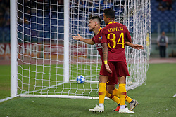 October 2, 2018 - Rome, Italy - UEFA Champions League football, Roma versus FC Viktoria Plzen; Tomas Horava of Viktoria Plzen runs for the ball. (Credit Image: © Giampiero Sposito/Pacific Press via ZUMA Wire)