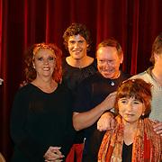 1e Repetitiedag de Jantjes, Carrie Tefsen, koert-Jan de Bruijn. Dick Schaar, Sylvia Alberts, Bob Fosko