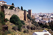 Walls of the old town of Ronda, Andalucia, Spain