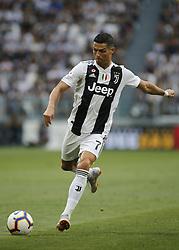 August 25, 2018 - Turin, Italy - Cristiano Ronaldo during Serie A match between Juventus v Lazio, in Turin, on August 25, 2018  (Credit Image: © Loris Roselli/NurPhoto via ZUMA Press)