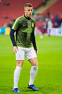Ross Barkley (England) warming up ahead of the international Friendly match between England and USA at Wembley Stadium, London, England on 15 November 2018.