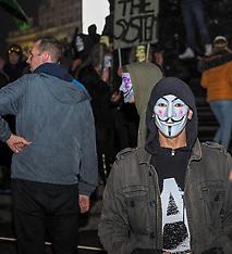 Million Masked March, London, 5 November 2018