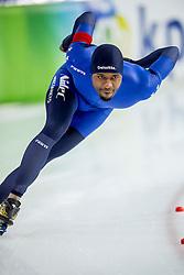 11-12-2016 NED: ISU World Cup Speed Skating, Heerenveen<br /> Shani Davis USA op de 1000 m