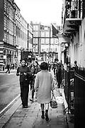 Women in London's Dover Street