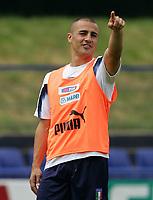 Fotball<br /> VM 2006<br /> 14.06.2006<br /> Trening Italia<br /> Foto: Graffiti/Digitalsport<br /> NORWAY ONLY<br /> <br /> Fabio Cannavaro