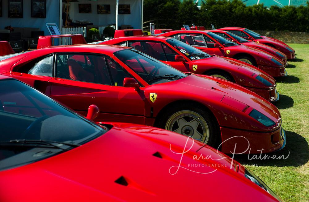 Salon Prive 2012, ferrari F40