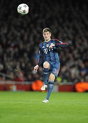 Bayern Munich's Toni Kroos - Photo mandatory by-line: Joe Meredith/JMP - Tel: Mobile: 07966 386802 19/02/2014 - SPORT - FOOTBALL - London - Emirates Stadium - Arsenal v Bayern Munich - Champions League - Last 16 - First Leg