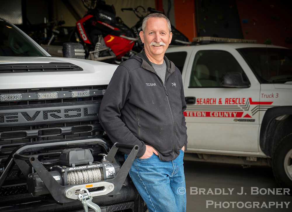 Mike Estes is a founding member of Teton County Search & Rescue and has been a volunteer with the organization for its entire 28 years. Estes recently landed the job as search and rescue coordinator with the organization.
