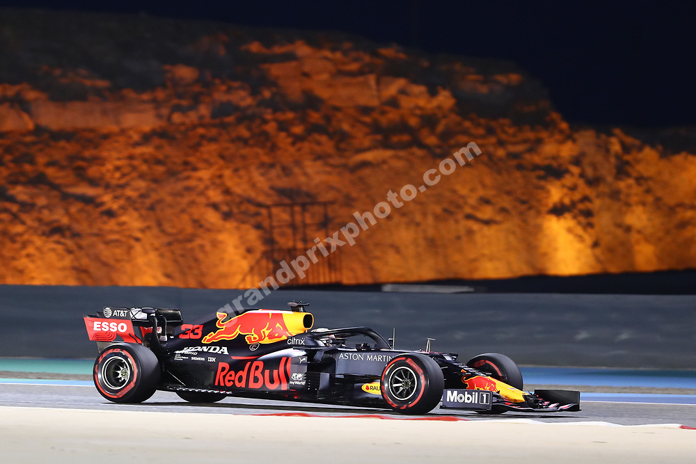 Max Verstappen (Red Bull-Honda) during practice for the 2020 Bahrain Grand Prix in Sakhir. © Copyright: FIA Pool Image via Grand Prix Photo - for Editorial Use Only