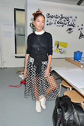 QUENTIN JONES at #SheInspiresMe Car Boot Sale in Aid of Women for Women International held at the Brewer Street Carpark, Soho, London on 23rd April 2016.