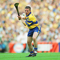 11 August 2002; James O'Connor, Clare. Hurling. Picture credit; Aoife Rice / SPORTSFILE