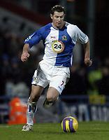 Photo: Jonathan Butler.<br />Blackburn Rovers v Liverpool. The Barclays Premiership. 26/12/2006.<br />Brett Emerton of Blackburn Rovers.