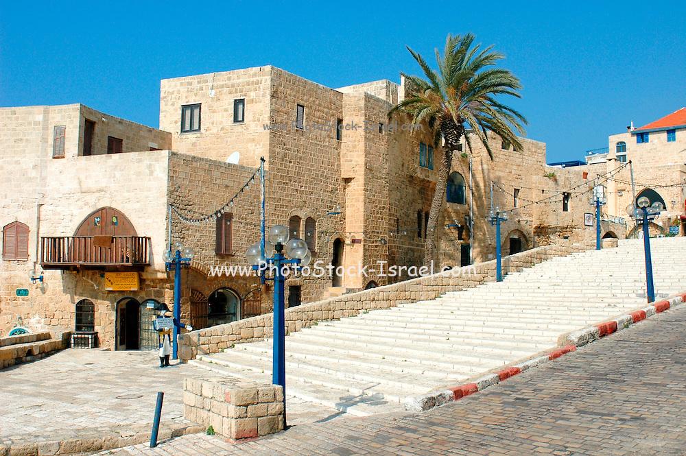 Kikar Kdumim, centre of old Jaffa, Israel
