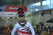 Liam Philips Winner of Elites Mens BMX World Cup Finals at  at the Manchester Arena, Manchester, United Kingdom on 19 April 2015. Photo by Charlotte Graham.