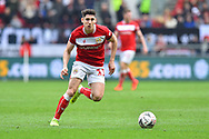 Callum O'Dowda (11) of Bristol City during the The FA Cup 5th round match between Bristol City and Wolverhampton Wanderers at Ashton Gate, Bristol, England on 17 February 2019.