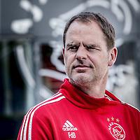 Nederland, Amsterdam, 4 mei 2016.<br /> Franciscus (Frank) de Boer is een Nederlandse coach en voormalig profvoetballer. Hij werd in december 2010 hoofdtrainer van AFC Ajax. Eerder was hij werkzaam als assistent-bondscoach van het Nederlands elftal en als jeugdtrainer bij Ajax.<br /> <br /> Foto: Jean-Pierre Jans