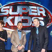 NLD/Hilversum/20150420 - Persviewing Superkids, Angela Schijf, Johnny de Mol en Tijl Beckand
