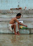 Personal Ritual - Varanasi Ghats