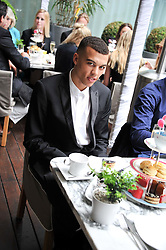 DUDLEY O'SHAUGHNESSY at a tea party organised by The Hub Magazine in aid of charity Kids Company held at The Sanderson, Berners Street, London on 2nd May 2012.