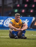 Rugby Union - 2019 / 2020 Gallagher Premiership - Round 22 - Saracens vs Bath - Allianz Park<br /> <br /> Bath Rugby's Rhys Priestland dejected after the 17-17 draw.<br /> <br /> COLORSPORT/ASHLEY WESTERN