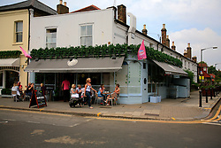 """UNITED KINGDOM WIMBLEDON 26JUN09 - General view of the Eclipse Bar in Wimbledon Village, a favourite haunt of tennis players and Boris Becker's new local bar in London. The newlyweds Boris Becker & Sharlely """"Lilly"""" Kerssenberg have recently moved into a 6-million pound property in Burghley Road, Wimbledon, London...jre/Photo by Jiri Rezac..© Jiri Rezac 2009"""