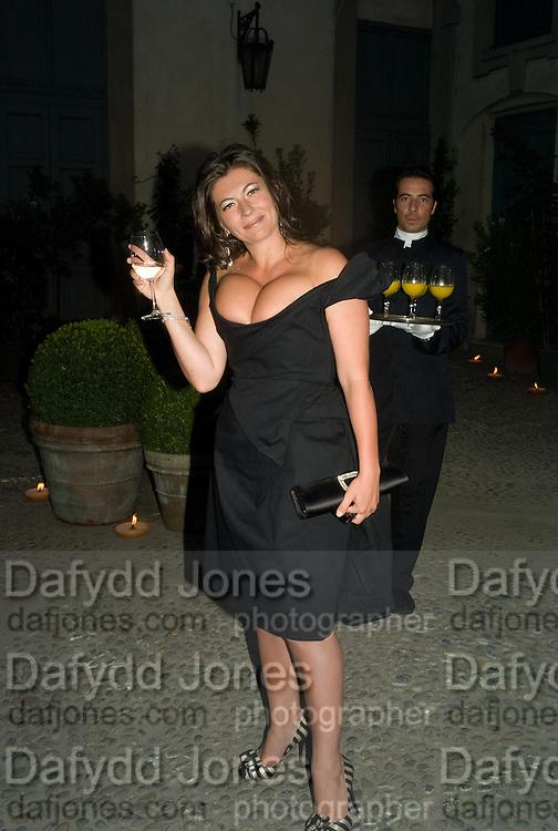ANTONELLA RANA, Luomo Vogue 40th Anniversary dinner. Palazzo Litta. Milan. 22 June 2008 *** Local Caption *** -DO NOT ARCHIVE-© Copyright Photograph by Dafydd Jones. 248 Clapham Rd. London SW9 0PZ. Tel 0207 820 0771. www.dafjones.com.