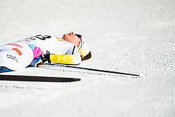 January 31, 2018 - Goms, SWITZERLAND - 180131 Moa Molander Kristiansen of Sweden after the women's 10km classic technique interval start during the FIS U23 Cross-Country World Ski Championships on January 31, 2018 in Obergoms..Photo: Vegard Wivestad GrÂ¿tt / BILDBYRN / kod VG / 170090 (Credit Image: © Vegard Wivestad Gr¯Tt/Bildbyran via ZUMA Press)