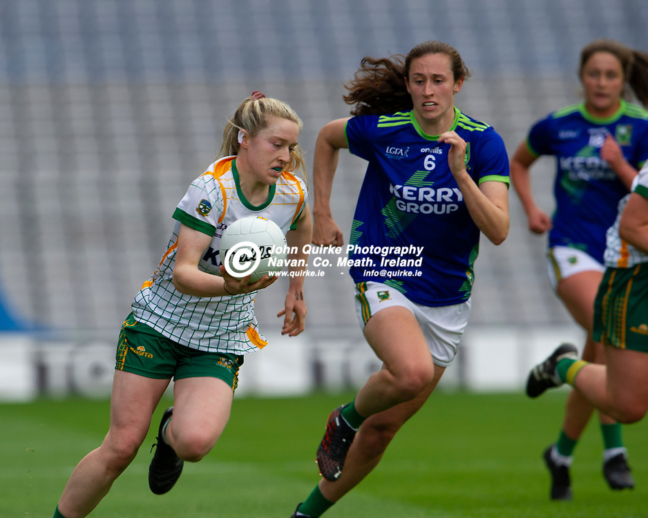 26-06-21. Meath v Kerry - Lidl Ladies National Football League Division 2 Final at Croke Park.<br /> Orlagh Lally, Meath in action against Kerry.<br /> Photo: John Quirke / www.quirke.ie<br /> ©John Quirke Photography, 16 Proudstown Road, Navan. Co. Meath. (info@quirke.ie / 046-9028461 / 087-2579454).